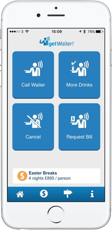 The app designed to take the stress out of getting the waiters