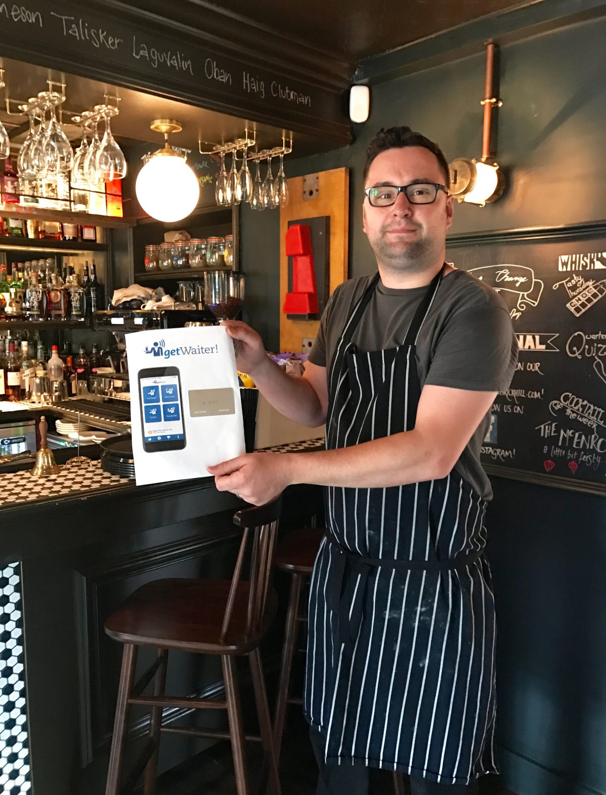 Father's Day Competition Winner: Lewis Moore, Head Chef at the Wheatsheaf Pub & Grill
